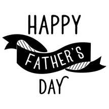 Happy Father's Day Banner Social Graphic