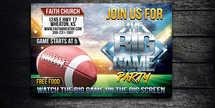 The Big Game Postcard