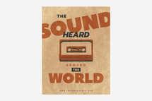The Sound Heard Around the World Template