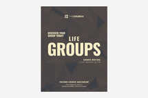 Life Groups Flyer Template