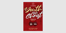 Youth for Christ Church Flyer