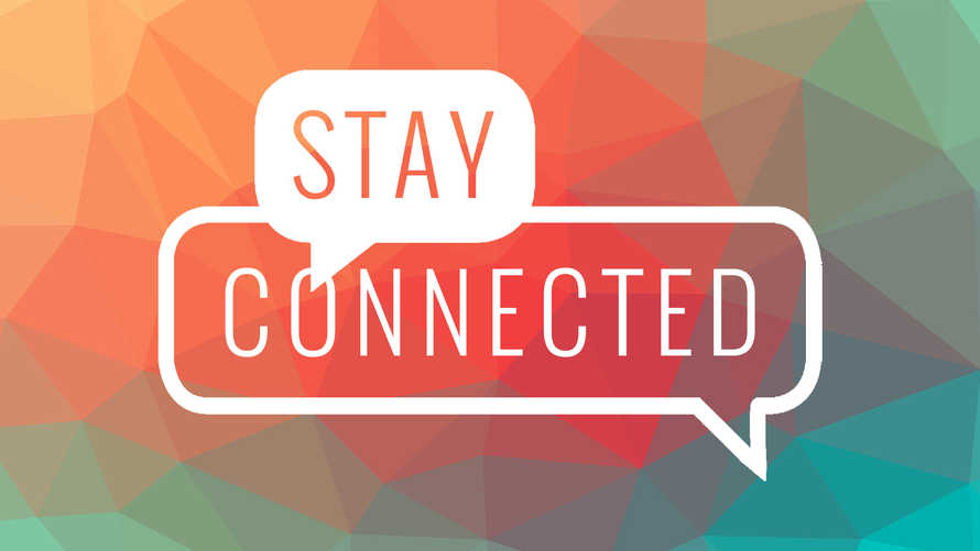 Stay Connected Slide