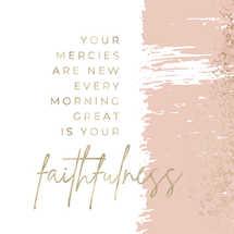 Faithfulness & Mercies Social Graphic Set