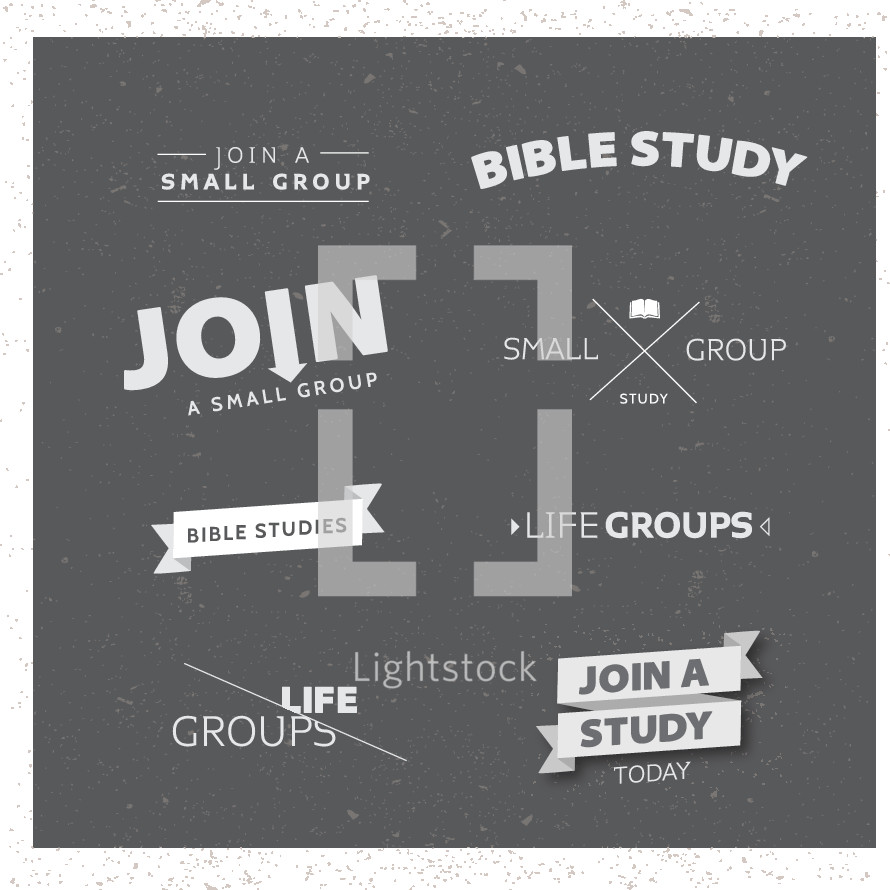 life groups, join a study today, Bible studies, join a small group, small group, words, lettering, groups, Bible study