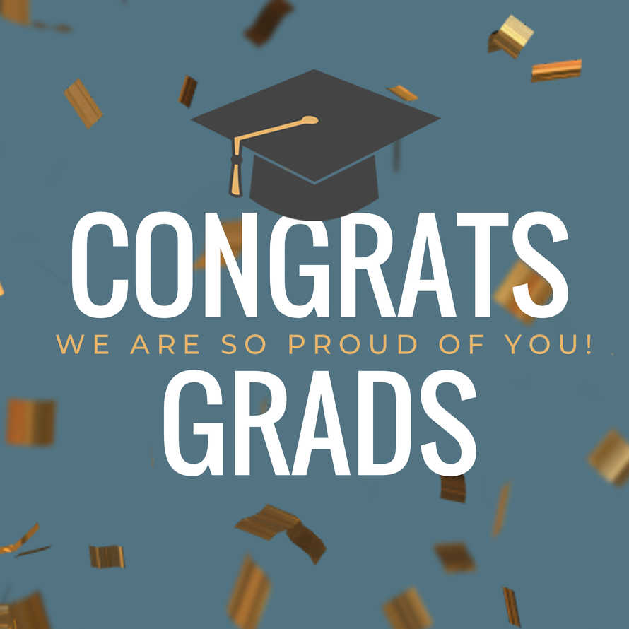 Graduation Social Graphic Set