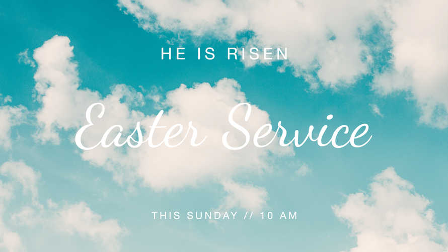 Easter Slides. He is Risen.