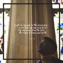 I lift up my eyes - Psalm 121