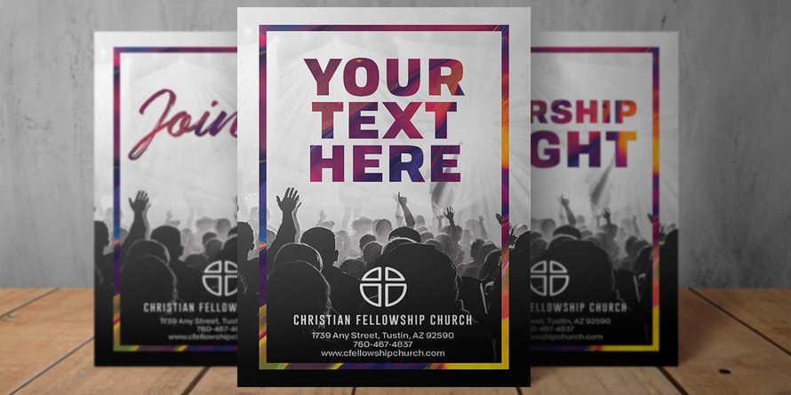 Welcome Worship 8.5x11 flyer
