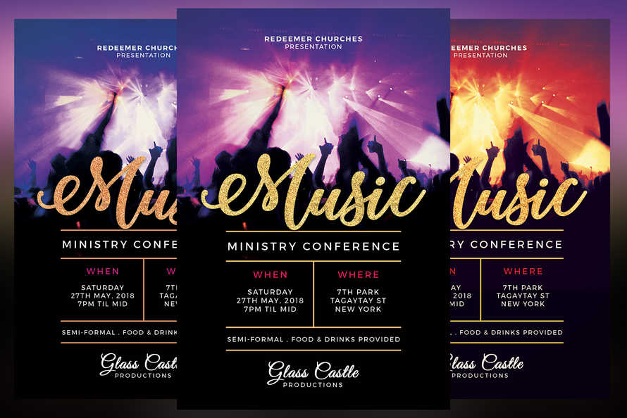 Music Ministry Conference Flyer