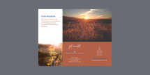Nature Church Trifold Letter Brochure