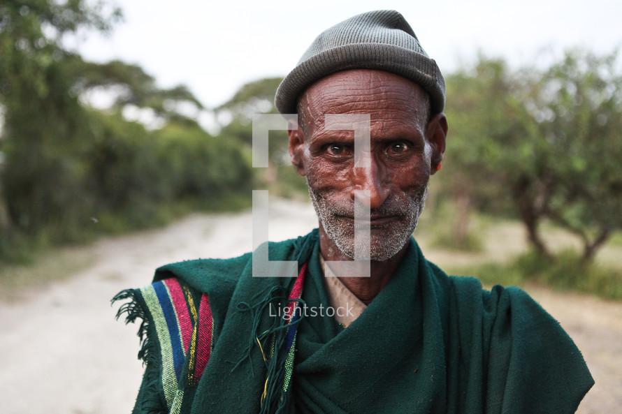 Ethiopian man