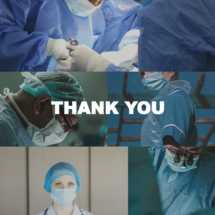 Thanks to Our Doctors