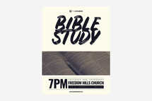 Bible Study Flyer Template 2