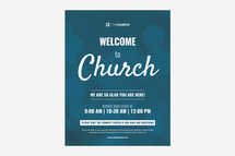 Welcome Bokeh Flyer Template