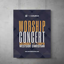 Worship Concert Flyer Template
