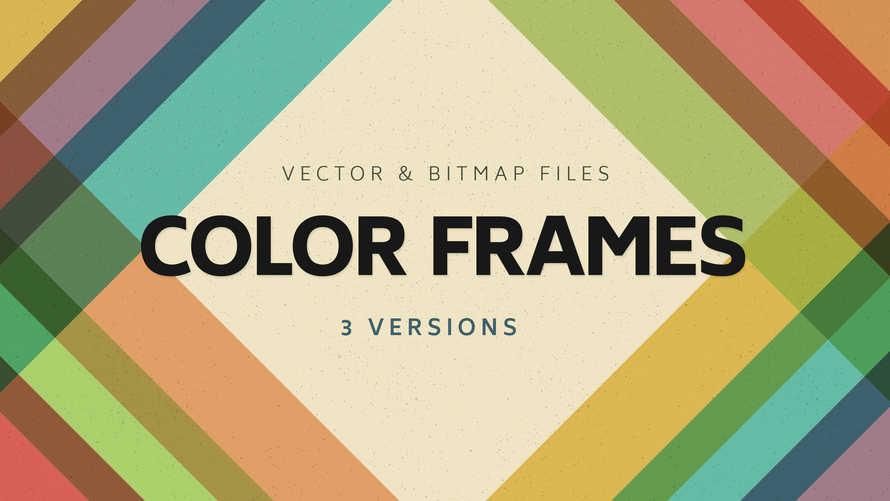 3 Color Frames