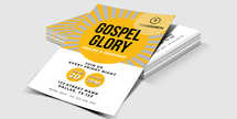 Gospel Glory Church Flyer