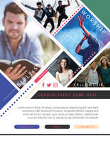 Church Event Flyer Ministry Design Template