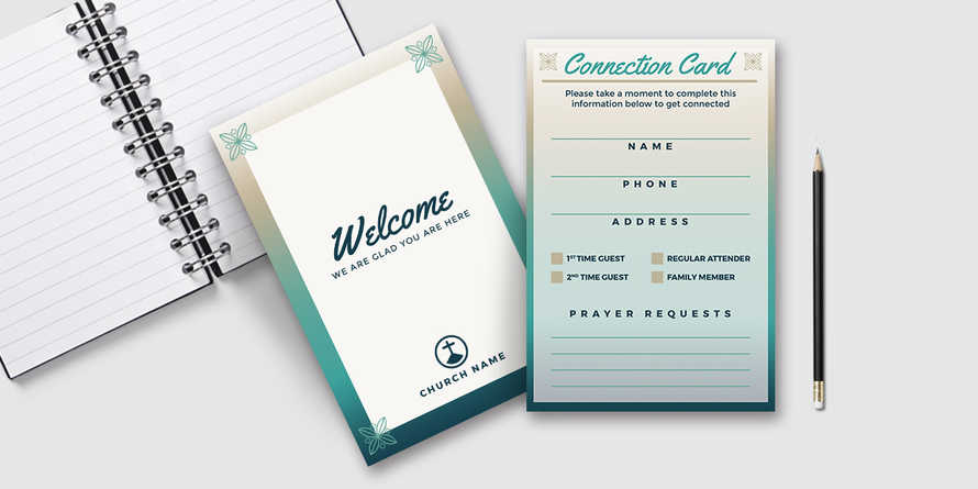Church Visitor Connection Card
