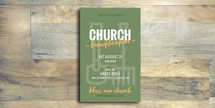 Church Beautification Flyer