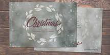 Women's Christmas Brunch Postcard