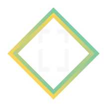 colorful diamond frame