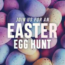 Join us for an Easter egg hunt