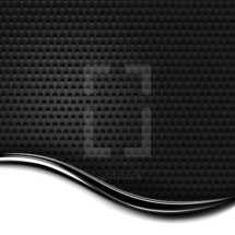 chrome background. Black and white template background. Dark metal perforation texture with chrome metal strip. The graphic element saved as a vector illustration in the EPS file format for used in your design projects.