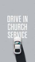 Drive in church service