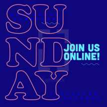 Join us on Sunday Social Graphic