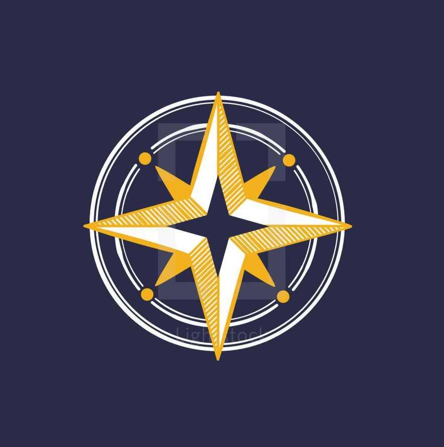 fancy compass