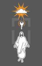keys to the kingdom and Jesus