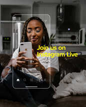 Join us on Instagram Live