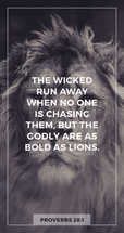 Bold as lions