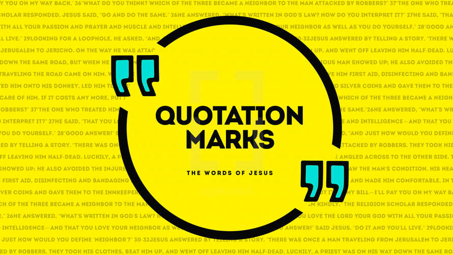 Quotation Marks – Expanded Pack w/ Bumper
