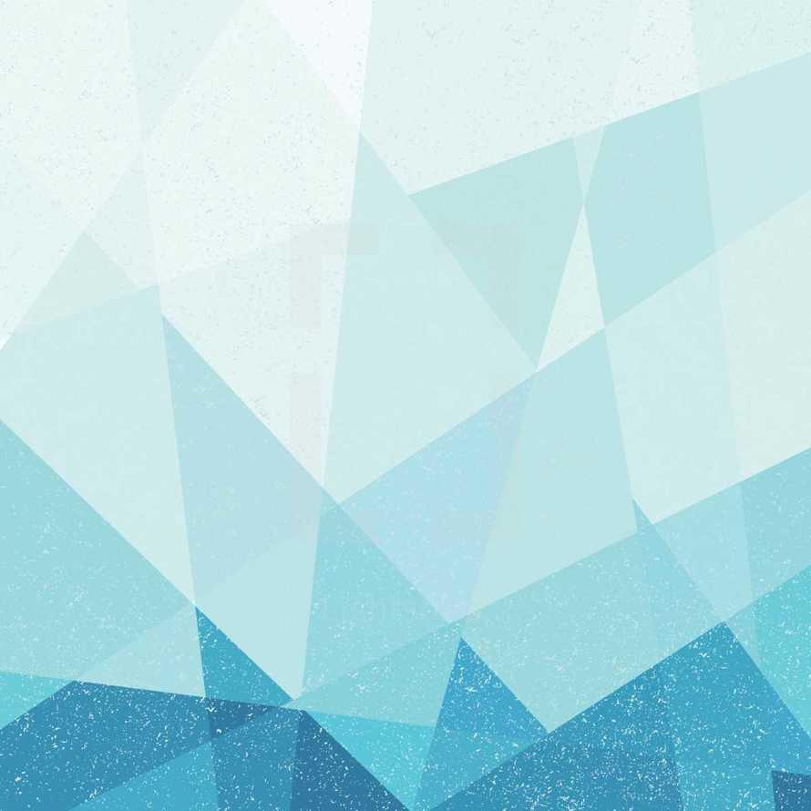 blue poly grunge background