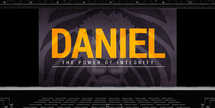 Daniel - The power of integrity - Sermon Series - Slides