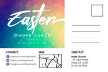 Easter at Hope Church Postcard