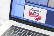 Patriotic Memorial Day Slide Background
