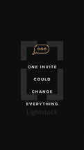 One invite could change EVERYTHING