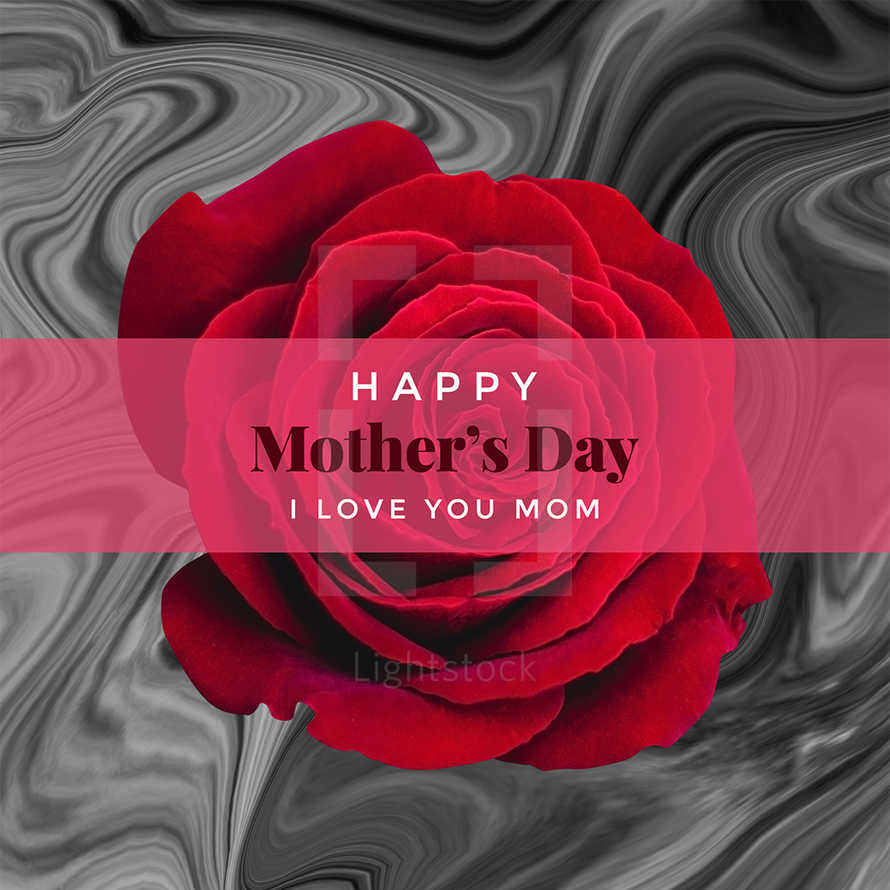 Happy Mother's Day Social Graphic
