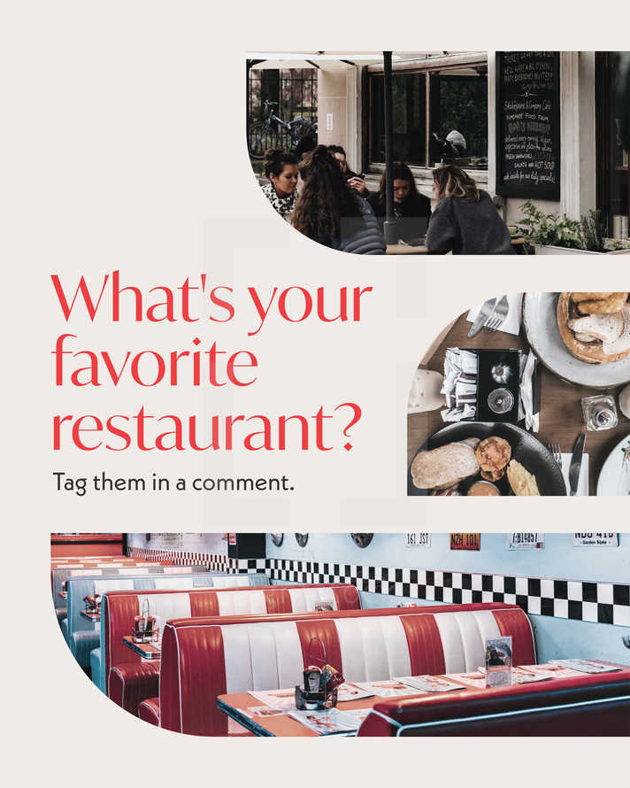 What's your favorite restaurant? Tag them in a comment.