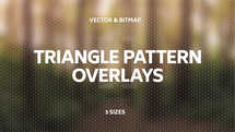 Triangle Pattern Overlays (3 sizes)