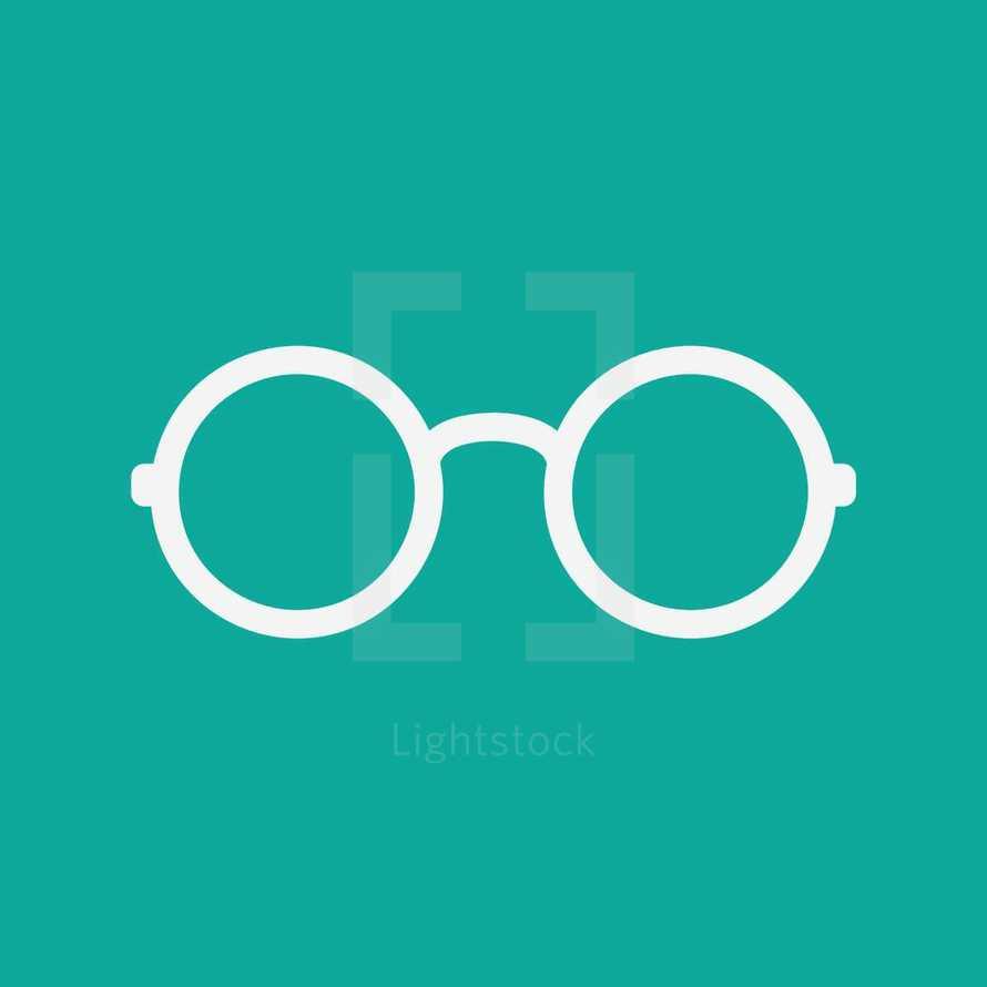 reading glasses icon