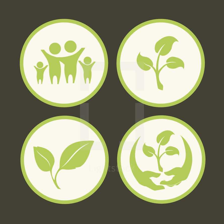 growth icons