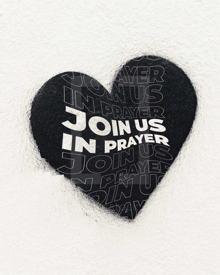 Join us in prayer