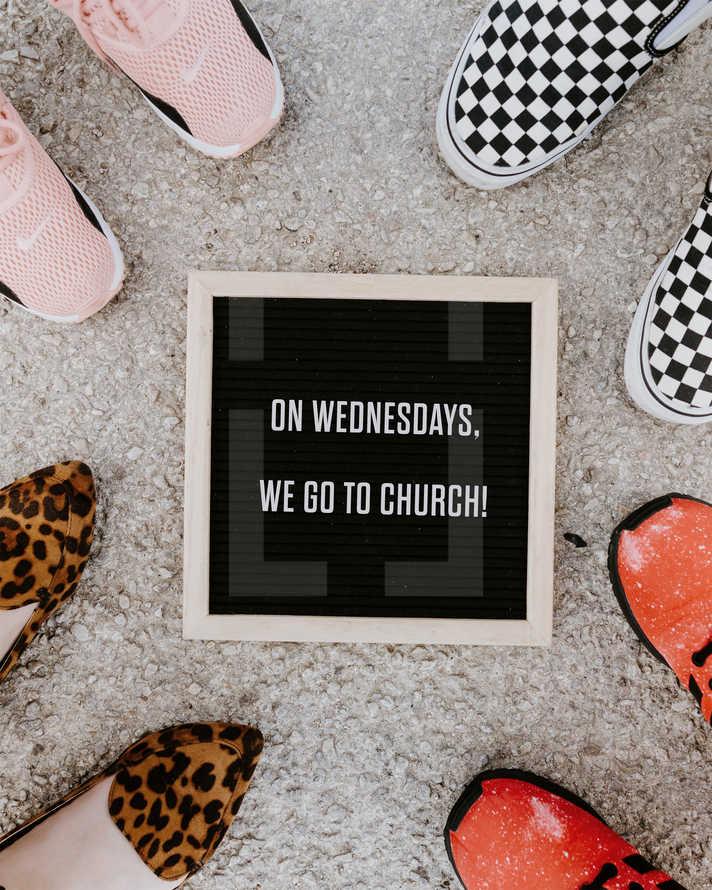 On Wednesdays, we go to church!