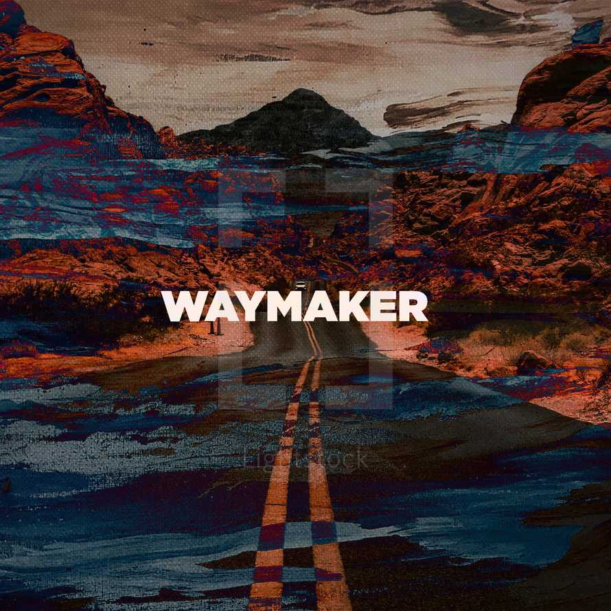 Waymaker Inspirational social graphic