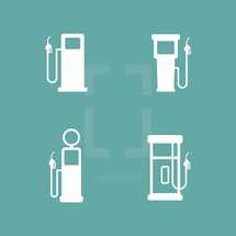 gas icons.