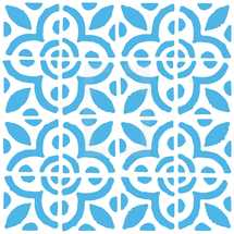 floral tile pattern. Seamless pattern with dutch ornaments in delftware or delft blue pottery style. Delft Kitchen and Fireplace Tiles. Graphic element for design saved as an vector illustration in file format EPS